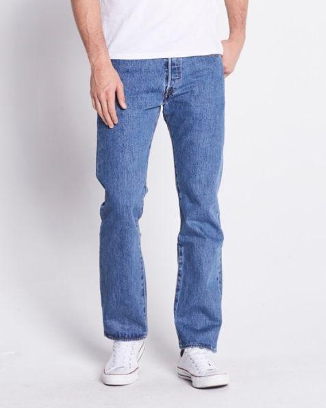 Levi's Medium stonewash 501 Mens Jeans