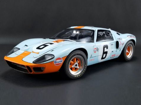 1:12 ACME 1969 Ford G40 MK1 #6 Ickx/Oliver 24Hrs Le Mans Champion