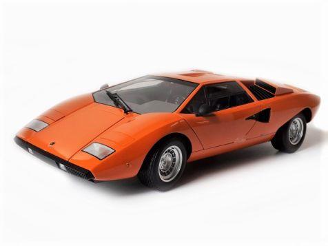 1:12 Kyosho Lamborghini Countach LP400 in Orange 08611P