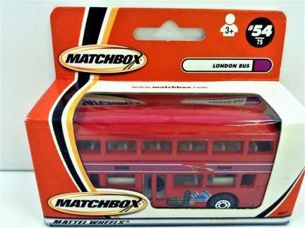 1:121 Matchbox - London Bus #54/75 - Item #96221