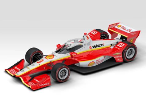 2020 #3 Dallara Chevrolet INDYCAR Scott McLaughlin St. Petersburg GP