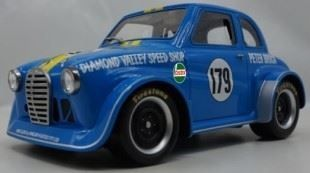 1:18 Ace Models Jamie Brocks Replica of Peter Brocks Austin A30 - Sky Blue - Car 05 - Resin Model