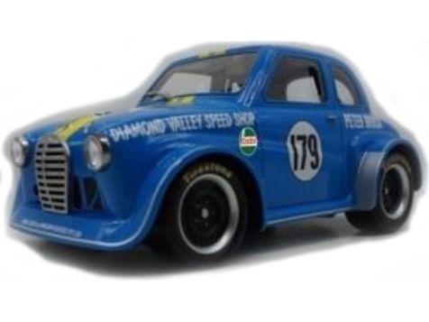 1:18 Ace Models Peter Brocks Austin A30 - Sky Blue - Car 179