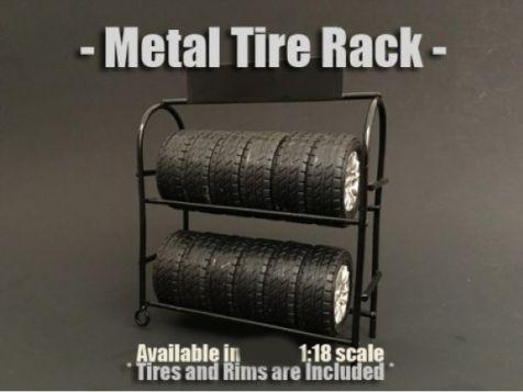 1:18 American Diorama Metal Work Bench Accessory