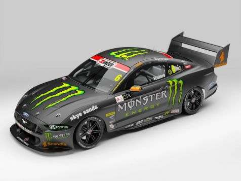 1:18 Authentic Collectables 2020 Ford Mustang GT #6 Cam Waters OTR Supersprint Livery