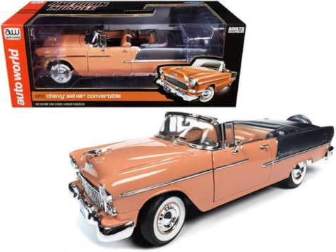 1:18 Auto World 1955 Chevy Bel Air Convertible