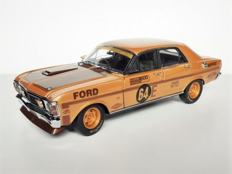 1970 Bathurst Winning Ford XW Falcon #64E Allan Moffat Gold Livery 50th Anniversary Edition