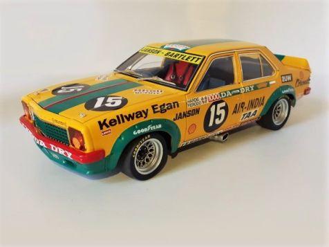 1:18 Classic Carlectables 1976 Holden LH L34 Torana #15 Janson/Bartlett