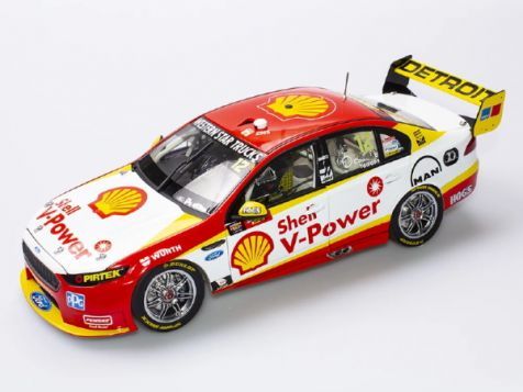 1:18 Authentic Collectables 2016 Ford FGX Falcon DJR #12 Coulthard/Youlden