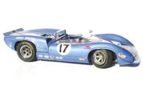 1:18 ACME 1967 Chevrolet Camaro Z/28 #4 Johnny Moore A1805703