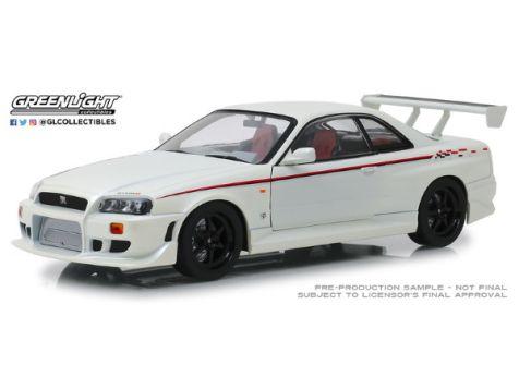 1:18 Greenlight 1999 Nissan Skyline GTR (R34) in White 19049