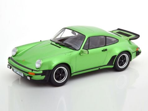 1:18 KK Scale 1976 Porsche Turbo 911 (930) 3.0 in Metallic Green KKDC180573