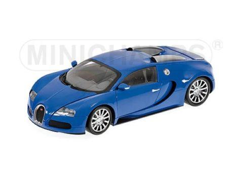 1:18 Minichamps 2009 Bugatti Veyron Light blue/Dark blue