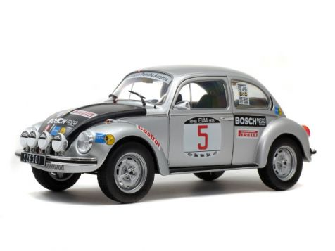 1:18 Solido 1973 Elba Rally Winner Volkswagen VW Beetle 1303 #5 Warmbold/Haggbom