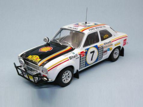 1:18 Triple 9 1972 Safari Rally Winner Ford Escort Mk 1 RS 1600 #7 Mikkola/Palm