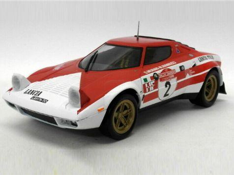 1:18 Triple 9 1974 San Remo Rally Winner Lancia Stratos HF #2 Munari/Manucci