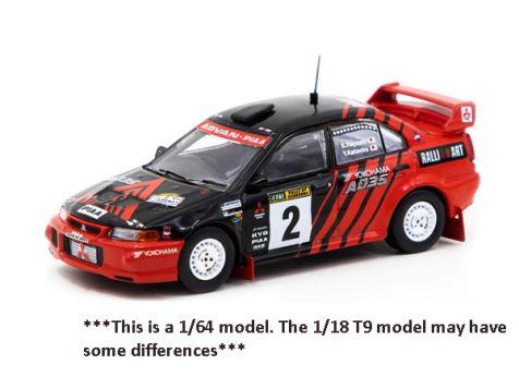 1:18 Triple 9 1999 Canberra Rally Winner Mitsubishi Lancer Evo VI #2 Kataoka/Hayashi