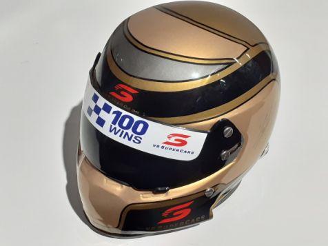 1:2 Mini Helmets Craig Lowndes 100 Wins Limited Edition Mini Helmet
