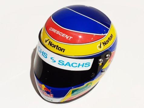 1:2 Mini Helmets Craig Lowndes - Redbull Racing Australia