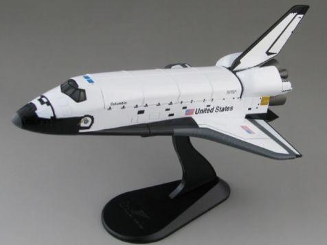 """1:200 HobbyMaster Space Shuttle """"Columbia"""" HL1406"""