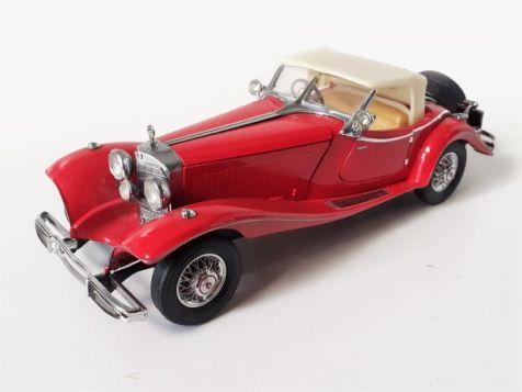 1:24 Franklin Mint 1935 Mercedes-Benz 500K Special Roadster