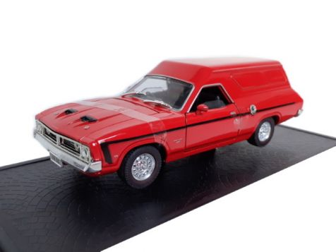 1:32 OZ Legends - Ford Falcon XB GS Panel Van - Red Pepper