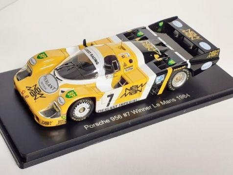 1:43 1984 Le Mans Winning Porsche 956 #7 Ludwig/Pescarolo