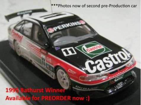 PREORDER 1995 1:43 ACE Bathurst Winning Holden VR Commodore #11 Perkins/Ingall