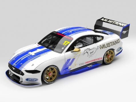 PREORDER 1:43 Authentic Collectibles 2019 Ford Mustang GT #17 Dick Johnson Parade of Champions