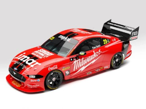 PREORDER 1:43 Authentic Collectibles 2020 Ford Mustang GT #23 Will Davison