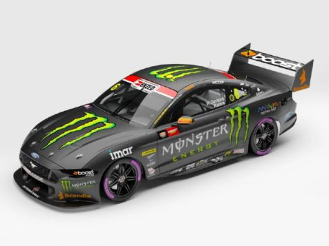 PREORDER 1:43 Authentic Collectibles 2020 Ford Mustang GT #6 Waters/Davison Bathurst Pole Position