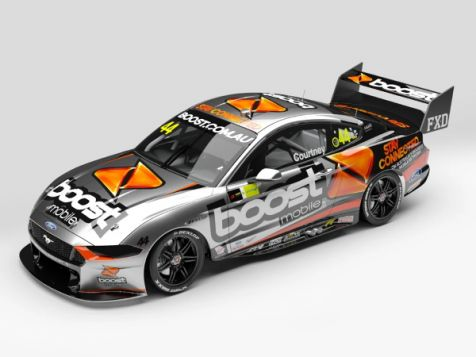 PREORDER 1:43 AC 2020 Ford Mustang GT #44 James Courtney Season Car