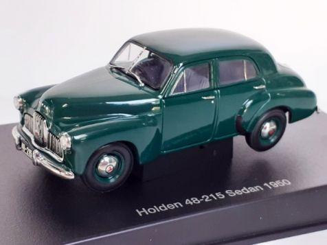 1:43 Autoart Holden 48-215 (FX) Sedan Forester Green - 1950 - 53325