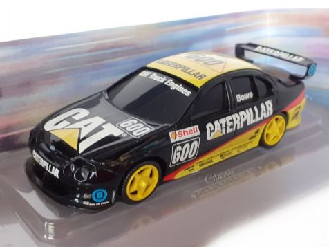 1:43 Classic Carlectables Ford Falcon Caterpillar Sponsored #600 Bowe 2600-2