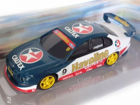 1-43-classic-carlectables-tony-longhurst-s-2000-caltex-havoline-racing-9-ford-au-falcon