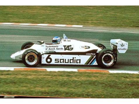 1:43 Minichamps 1980 F1 World Champion Williams-Ford FW07B #27 Alan Jones (Dirty Version)