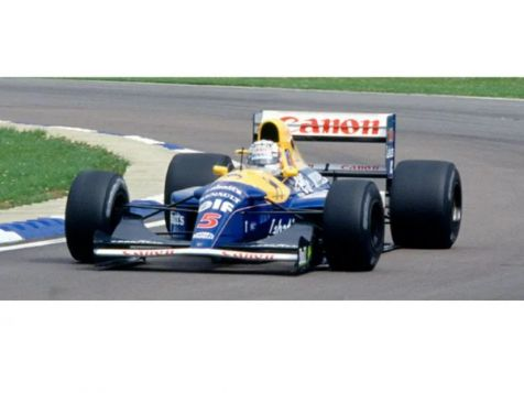 1992 F1 World Champion Canon Williams Team Williams-Renault FW14B #5 Nigel Mansell  (Dirty Version)