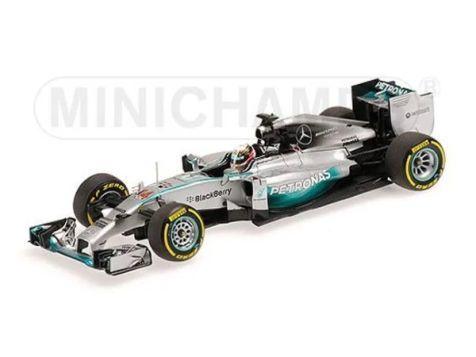 PREORDER 1:43 Minichamps 2014 F1 World Champion Mercedes-AMG F1 W05 # 44 Lewis Hamilton