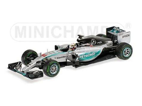 1:18 Minichamps 2014 F1 World Champion Mercedes-AMG F1 W05 # 44 Lewis Hamilton