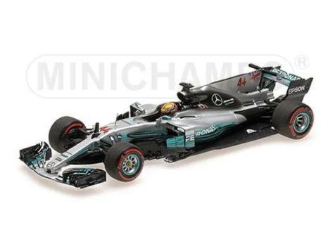1:43 Minichamps 2015 F1 World Champion Mercedes-AMG F1 W06 Hybrid # 44 Lewis Hamilton
