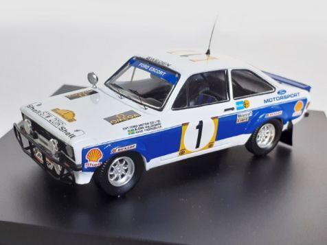 1:43 Trofeu Ford Escort Mk II RS1800 #1 1977 Safari Rally Bjorn Waldegard Hans Thorszelius