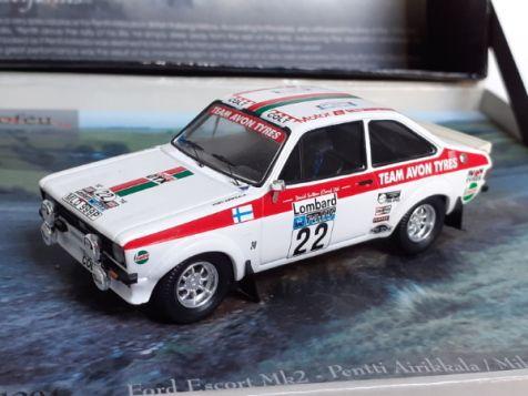 1:43 trofeu ford escort MkII 1976 rac rally pentti airikkala brl04