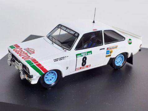 1:43 Trofeu Ford Escort Mk II RS1800 #8 1978 Portugal Rally Hannu Mikkola Arne Hertz