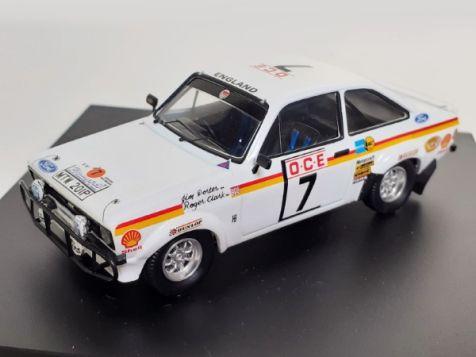 1:43 Trofeu Ford Escort Mk II RS1800 #7 - 1976 Morocco Rally
