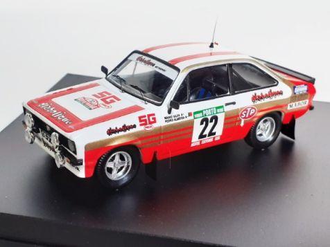 1:43 Trofeu Ford Escort Mk II RS2000 #22 1981 Portugal Rally M Silva P De Almeida