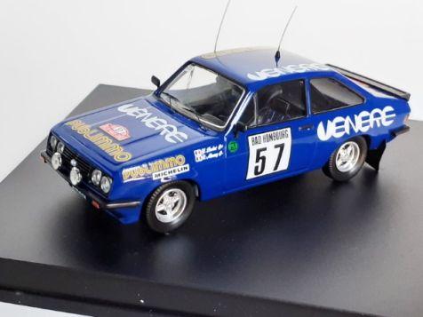 1:43 Trofeu Ford Escort Mk II RS2000 #22 1981 Monte Carlo Rally Y Loubet R Alemany