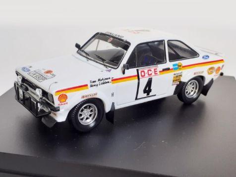 1:43 Trofeu Ford Escort MkII RS1800 #4 Morocco Rally 1976 Driver: T Makinen - Nav: H Liddon diecast model