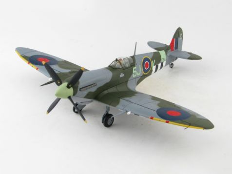 1:48 Hobby Master Spitfire Mk IXc ML214, Sqn Johnny Plagis, 126 Squadron, RAF Harrowbeer Devon Oct 1944