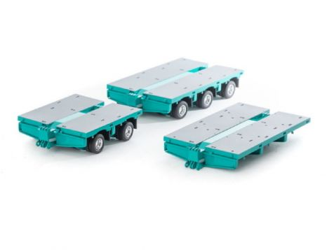 1:50 Drake Steerable Low Loader Accessories Kit in Toll Livery