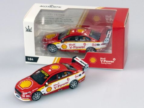 1:64 Authentic Collectables 2018 Ford FGX Falcon #17 Scott McLaughlin V8 Supercars Championship Winner